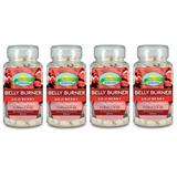4 Seca Barriga Goji Berry 720 Compr. Nutrigold Frete Grátis