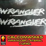 Calcomania Jeep Wrangler 24 Pulgadas Capo Original