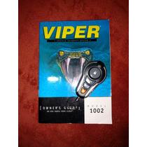 Control Viper Modelo 1002(solo Contol!nv3b0!)con Manual