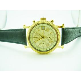 Banhado A Ouro Relógio Alemão Franz Jacques Cantani,novo