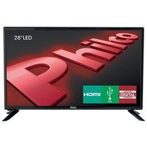 Tv 28 Led Hd Dtv, Som Surround - Philco