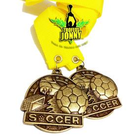 Medalla De Futbol Personalizada