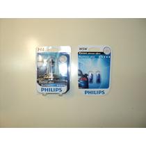 Lampara H4 Philips Blue Vision El Par (2) + Reglamentarias
