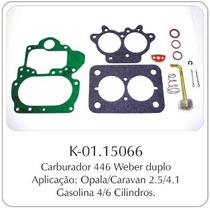 Kit Carburador Gm Opala/caravan Weber Duplo