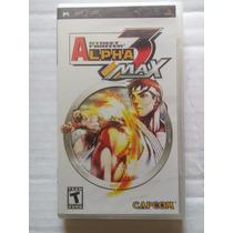 Street Fighter Alpha 3 Max Psp Nuevo Sellado Playstation