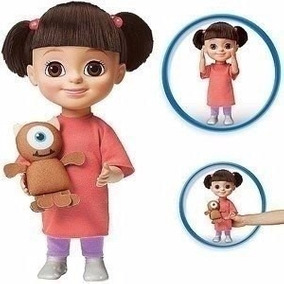 Boneca Boo Monstros S/a Original Com Pequena Avaria Na Caixa
