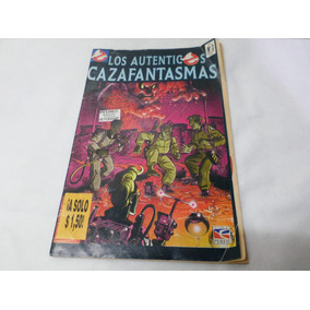 Comic Los Autenticos Cazafantasmas N° 3 Perfil 1992