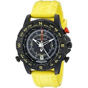 Reloj De Acero Nad G Nsr 103 Negro Inoxidable Nautica De Lo