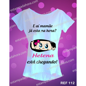 Camiseta Gestante Grávida Bebe Espiando Blusa De Bebê Baby
