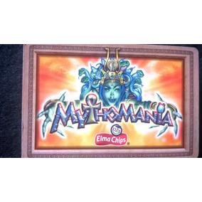 Cards Figurinhas Tazo Mythomania Elma Chips