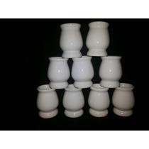 Mates De Ceramica Blancos