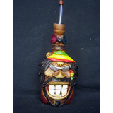 Pipa De Agua Artesanal Hermosa Decorativa Imagen Bob Marley