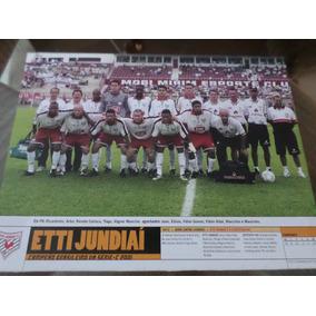 Poster Etti Jundiai Campeão Brasileiro Série C 2001 21x27 Cm