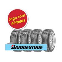 Kit 4 Pneu Aro 17 Bridgestone 245/40r17 Potenza Re050a 91w