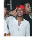 Terço Rosário Masc Neymar Luan Santana Crucifixo Aço Inox