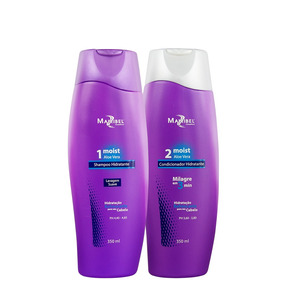 Kit Moist Aloe Vera 350ml Mairibel Cosméticos