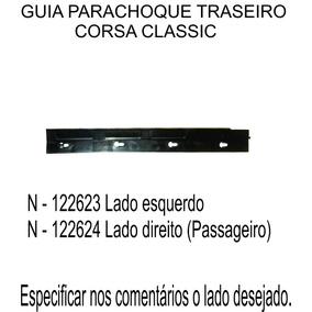 Guia Parachoque Traseiro Corsa Classic