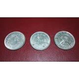 Lote De 3 Monedas Chinas Antiguas En Buenas Condiciones