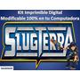 Kit Imprimible Para Tu Fiesta De Bajo Terra Slug Terra
