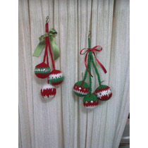Adornos Navideñostejido Al Crochet Mi Tejido Artesanal