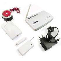 Kit De Alarme Residencial Gsm Sistema Wireless Sms/gprs Cp94