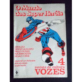 Super Heróis Revista Cultura Vozes Quadrinhos Gibi