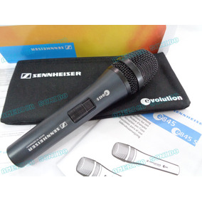 Microfono Sennheiser E845s Profesional Evolution 100% Nuevo