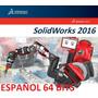 Solid.works Premium 2016 Sp5 Español +8000 B + Tutoriales
