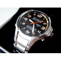 Relógio Orient Mbssa036 World Time - 100m - Novo, Original!