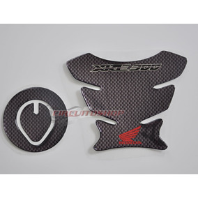 Protetor Tanque Tankpad + Bocal M02 Moto Honda Xre 300 Bros