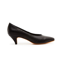 Zapatos Stilettos Taco Bajo