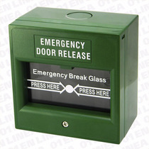 Salida De Emergencia Cerradura Electrica Electronica Boton