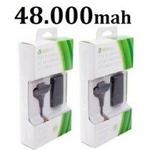 Kit 02 Bateria Carregador Do Controle Xbox 48.000mah Charge