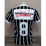 Camisa Retrô Corinthians 83 Democracia - $ . S A L D Ã O . $