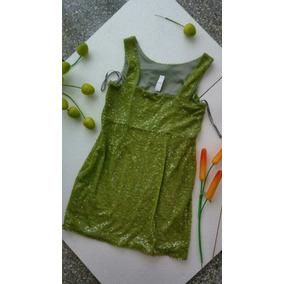 Hermoso Vestido Casual Verde Nuevo