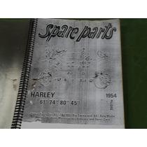 Catalago De Peças Para Harley Davidson Antiga De 41 A 54