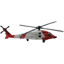 Helicoptero Rescate Aereo De Coleccion Metalico