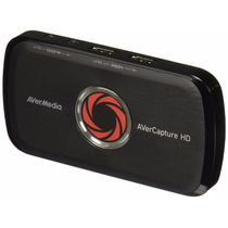 Capturadora Avermedia Avercapture Hd, Game Streaming