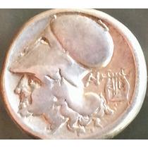 Moeda Clássica Grega Stater De Corintos-pegasus Prata Grécia
