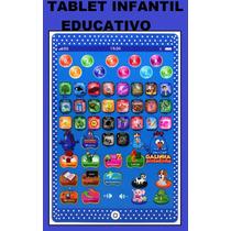 Tablet Infantil Educativo Galinha Pintadinha Multifunções