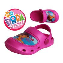 Envio Huaraches 14.5 Cms Nina Dora Rosas Zapatos Sandalias