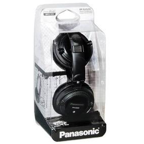 Fone Panasonic Rp-djs200-dj Street 200-preto-lindo-dobravel