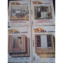 Revistas Carpintería Hágalo Ud Mismo Hecho En Casa 1,3,5,8