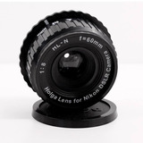 Lente D Arte Holga Camara Nikon Reflex Dslr Fotografico Lomo