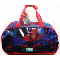 Bolso Infantil Hombre Araña Spiderman Original Línea Premium
