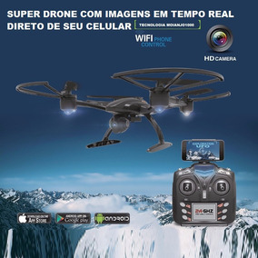 Drone Fq777 Inspire Ml2123 Com Câmera Wifi