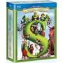 Blu Ray Shrek - A História Completa - Box 4 Filmes, Dub/leg,