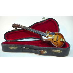Miniaturas De Instrumentos Musicais. Guitarra Elétrica Raro!