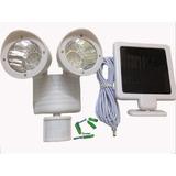 Lampara De Emergencia A Energía Solar Con Sensor De Movimie