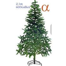 Árvore De Natal Verde Canadense Pinheiro 2,10m Promoção Alfa